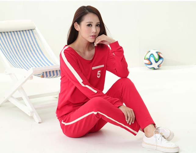 Ladies Casual Unique Thick Pajamas