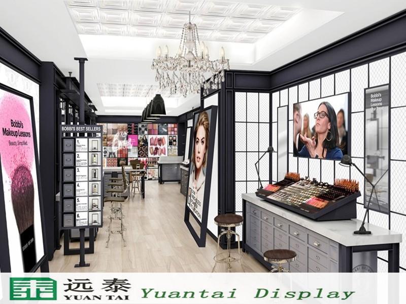 2016 Hot Sale Makeup Toko Gambar Desain/kosmetik Display ...