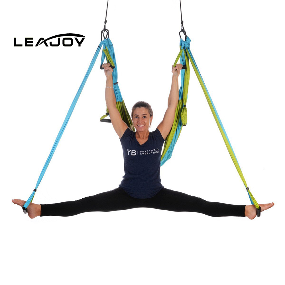 Gym exercise comfortable yoga swing hammock set