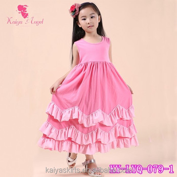 cf06b5a1a Designer baby frocks kids boutique clothes cotton long frocks for teenagers