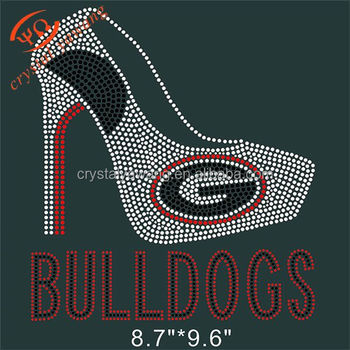 foto de Iron On T-shirt Georgia Bulldogs Rhinestone Design Transfer - Buy ...