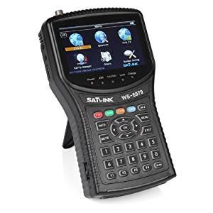 Satlink WS-6979 DVB-S2 & DVB-T2 Combo Digital Satellite Finder Spectrum Meter Analyzer, 4.3 Inch High Definition TFT LCD Screen by SATlink
