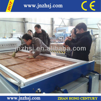 TM2480 Kitchen Cabinet Doors Membrane Thermoforming Machine