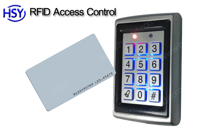 Hsy Metal Access Control Reader Standalone Rfid Door Entry System