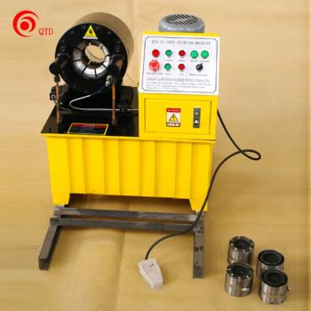 "2"" Inside Diameter Rubber Hose Air Fitting Cable Crimping Machine"