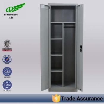 Luoyang Factory Steel Material 2 Door Key Lockertall Narrow Storage