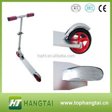 145mm PU Wheel Suspension Adult Kick Scooter