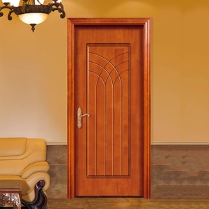 China professional manufacture ecological melamine skin wooden doors in dubai