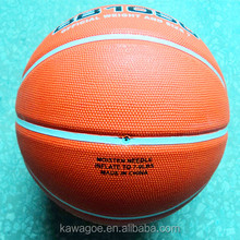 2016 PRO club team rubber basketballs