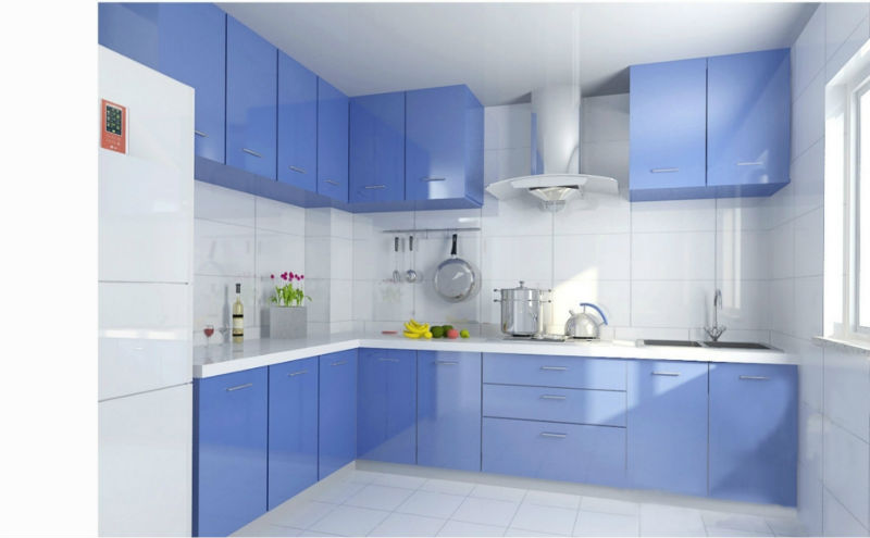 Modern Glass Kitchen Cabinet Modern Kitchen Cabinet European Stylecolored Glass  Kitchen
