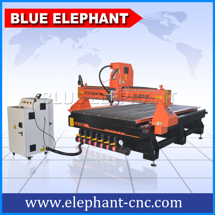 1530 cnc wood cutting machine , cnc router for MDF , acrylic , aluminum