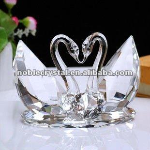 Bomboniere In Cristallo Per Matrimonio.Chiaro Cigno Di Cristallo Per Il Matrimonio Regali Souvenir