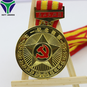 Gold Office Decoration Medallion Medal