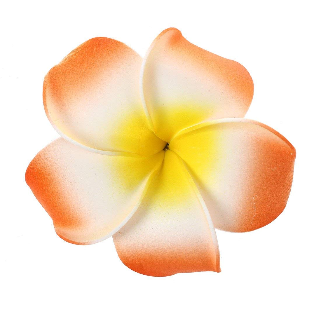Cheap wedding plumeria find wedding plumeria deals on line at get quotations toogoor wedding party hawaiian frangipani plumeria flower foam hairclip hair clip 9cm orange izmirmasajfo