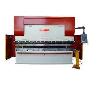 WC67Y-80T/2500 steel bender and cutter hydraulic sheet cutting bending machine CNC press brake bending