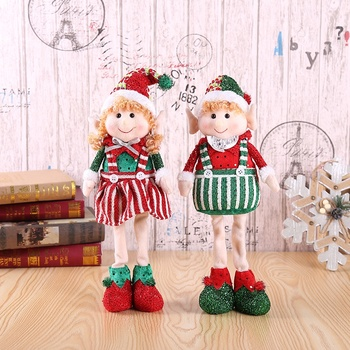 Factory wholesale New design on the shelf a tradition elf doll christmas for Christmas decorations or gifts