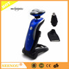 Waterproof rechargeable Electric Shaver Set with Nose Trimmer and Beard Trimmer Head