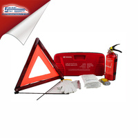 Car emergency EVA survival kit with fire extinguisher