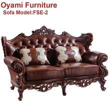 talladas a mano de madera de lujo de alta calidad dubai clsico sof muebles