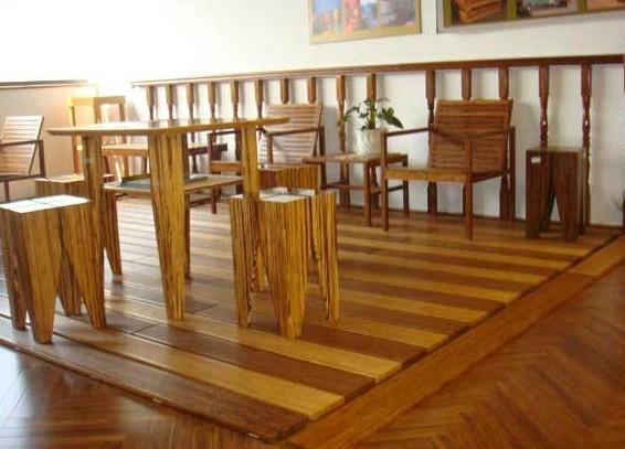 Suelo de bamb natural de mesa comedor suelo de bamb - Suelos de bambu ...
