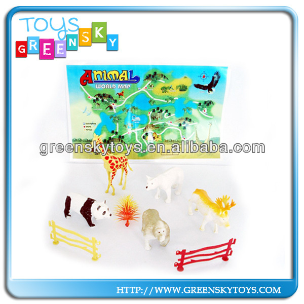 New and hot sale plastic wild animal model