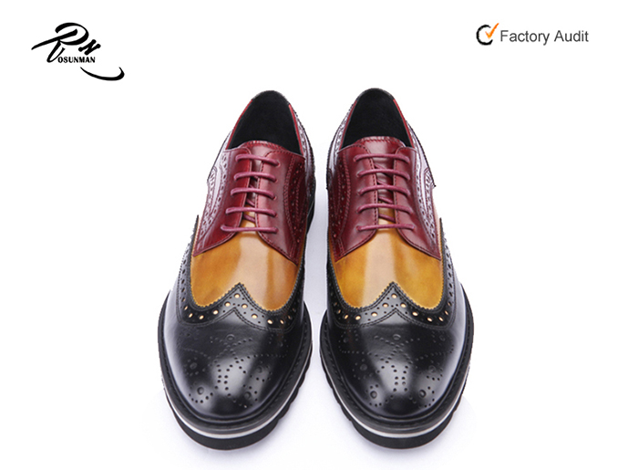 leather new style in shoes Newest China pure cow leather shoes made men zBF8nq