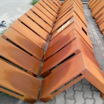 Custom Design Manufacturing Perforated Corten Steel Panels ...