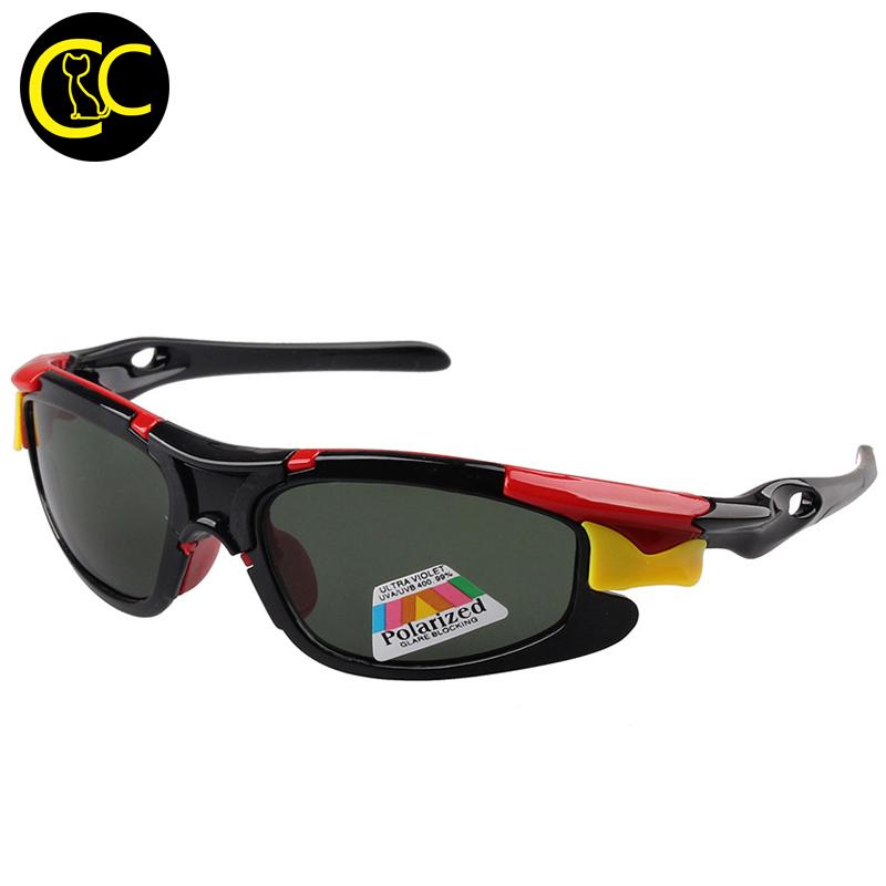 Fashion New Kids TAC Polarized Goggles Baby Children Sunglasses UV400 Sports Sun glasses Boys Girls Cute Cool Glasses CC0605