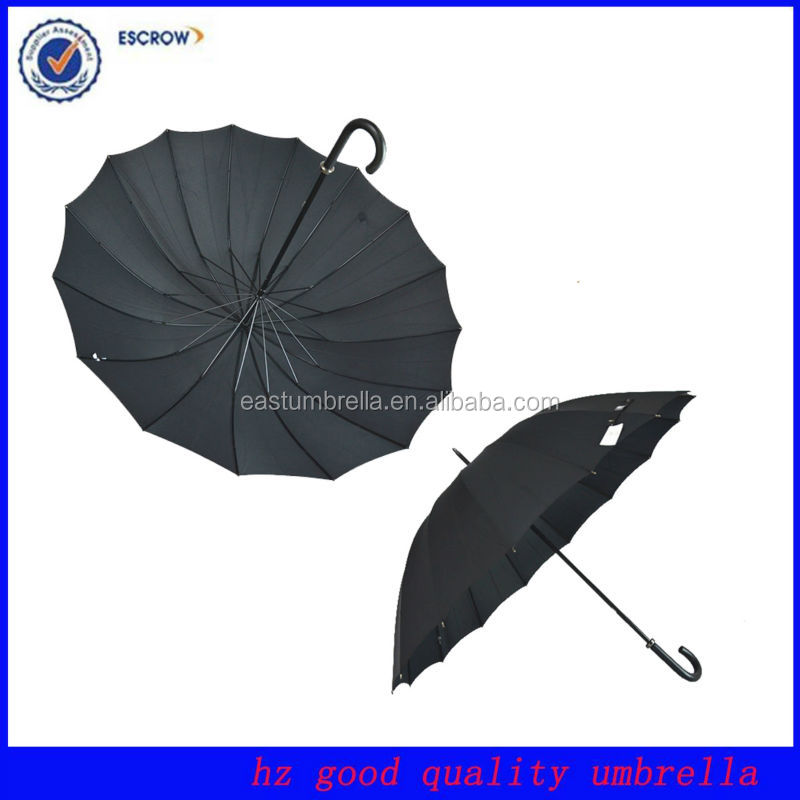 16k Wooden Handle Umbrella Umbrella Clothes Dryer