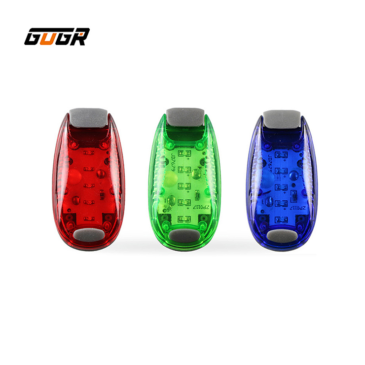 Promotion 플라스틱 Mini Clip Led Safety 빛 Clip on 스트로브/led safety 빛 running