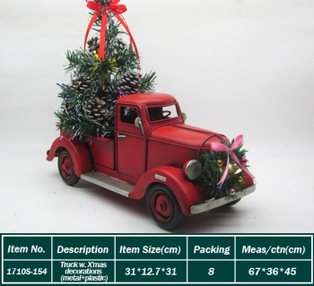 wholesale vintage truck model christmas decoration