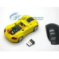 1600dpi Computer Mouse Car Shape Wireless USB 3D Optical Mouse 2.4GHZ For Laptop Notebook Pc