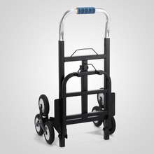 Hand Carts & Trolleys 420 lb Capacity All Terrain Stair Climbing Hand Truck with Backup Wheels
