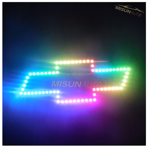 colorshift emblem logo halos kit for Chevy led car light