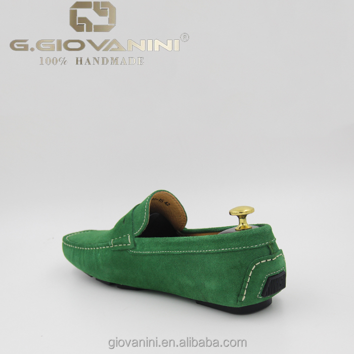 Classic high Hot suede Green mens moccasin quality shoes moccasins Fashion casual low Thailand Colors shoes price leather fwSIx
