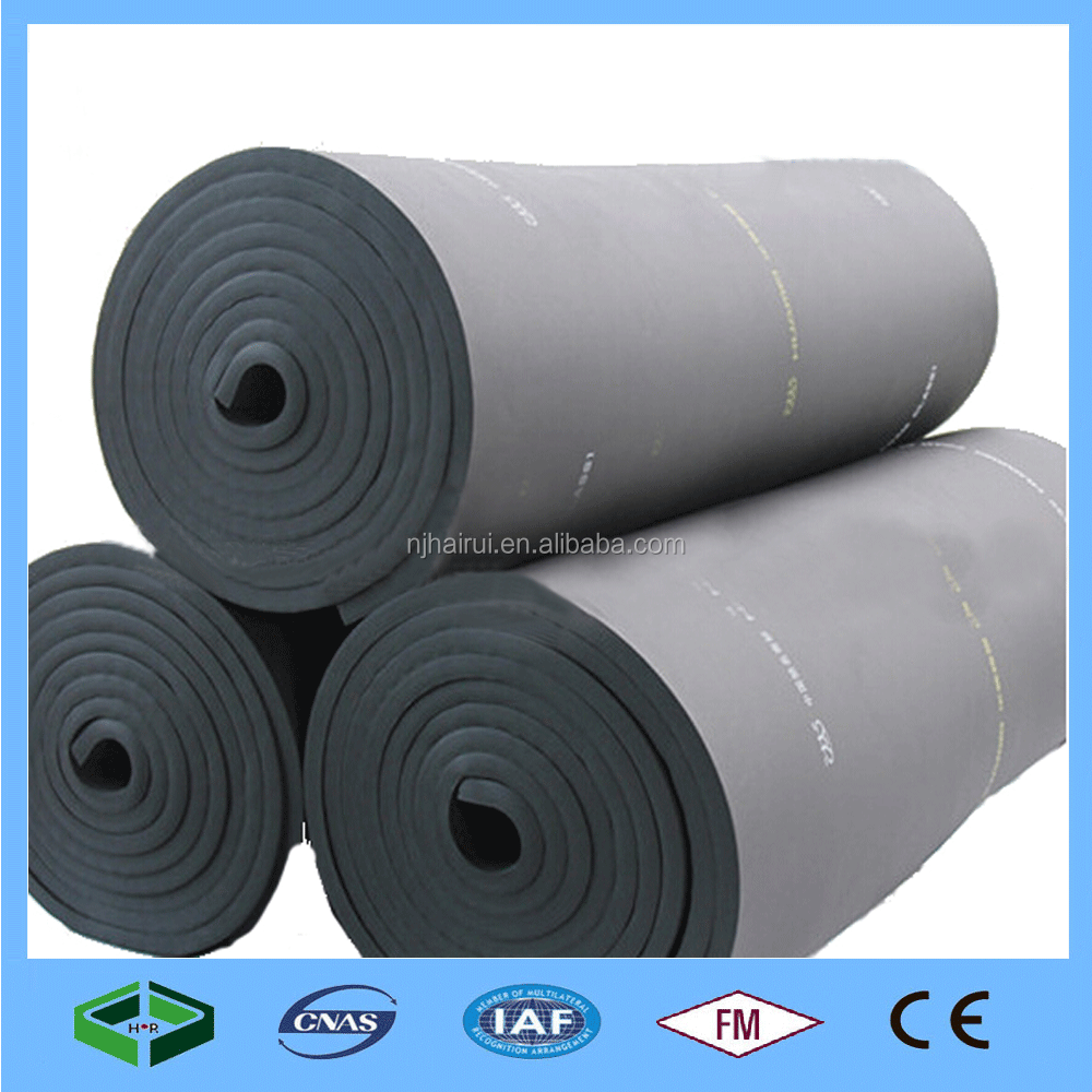 2016 Hot sale Class B1 Fireproof Rubber Foam Insulation For Air-conditioner