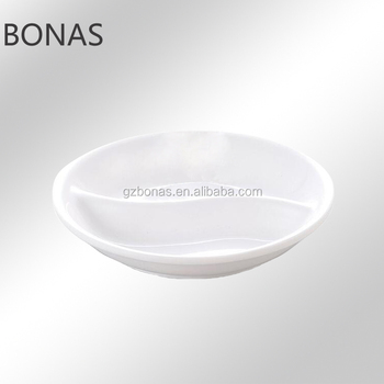 Melamine Divided Plates Dishes Plastic Sushi Disposable Plate