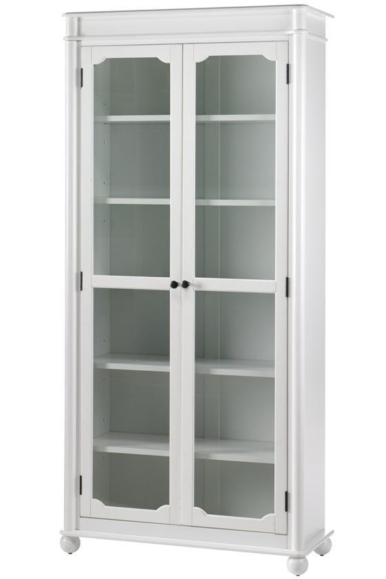 Wooden 2 Glass Doors Tall Storage Cabinet Buy Wodden