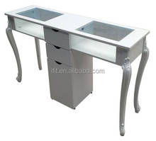 Whloesale factory price manicure table with dust collector/modern manicure table