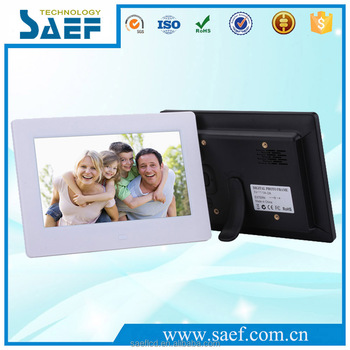 Manufacturer 7 Lcd Digital Photo Frame With Mp3 Pictures Video