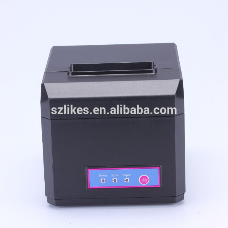 80mm pos printer with google cloud print 2 inch thermal auto cutter