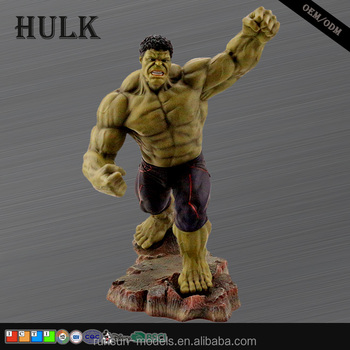 Iron powder Polyresin HULK miniature figure