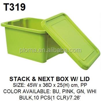Kids Large Storage Box Toy Plastic Bins With Lid