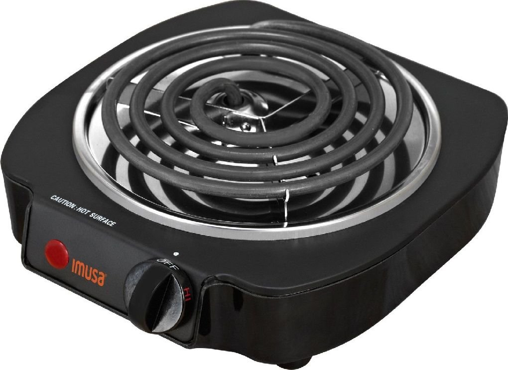 01dba3faca3 Get Quotations · Compact Portable Single Electric Burner Camp Travel Food Cooker  Cooking Cooktop