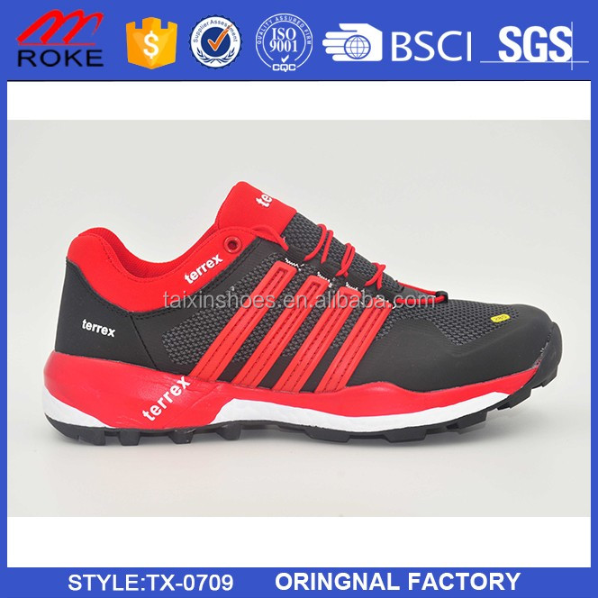 hot sale design sports shoes with light sole shoes