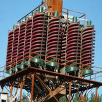 Gravity heavy mineral recovery chrome spiral chute manufacturer