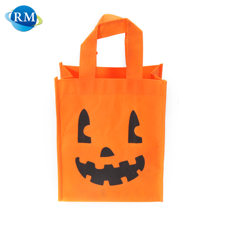 Fancy Cute Design Custom Logo Printed Nonwoven Carry Bag