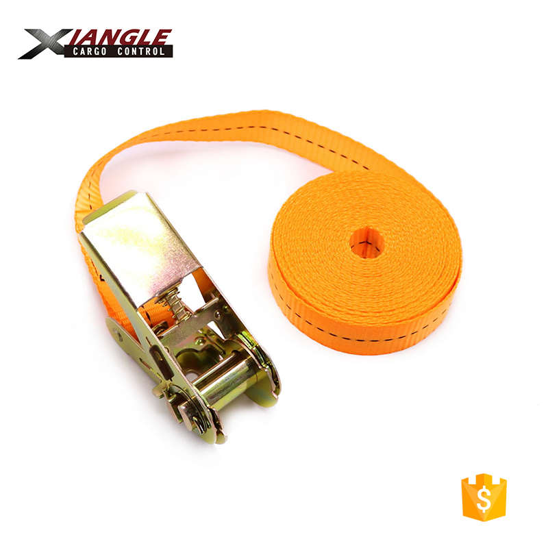 25mm 1inch Wholesale Mini Endless Loop Polyester Tie Down Lashing Ratchet Strap Tension Belt without hooks for cargo control