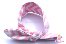 China infant stripe headband supplies baby kids hair band