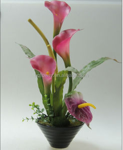 Home decorating Artificial flower Calla lily